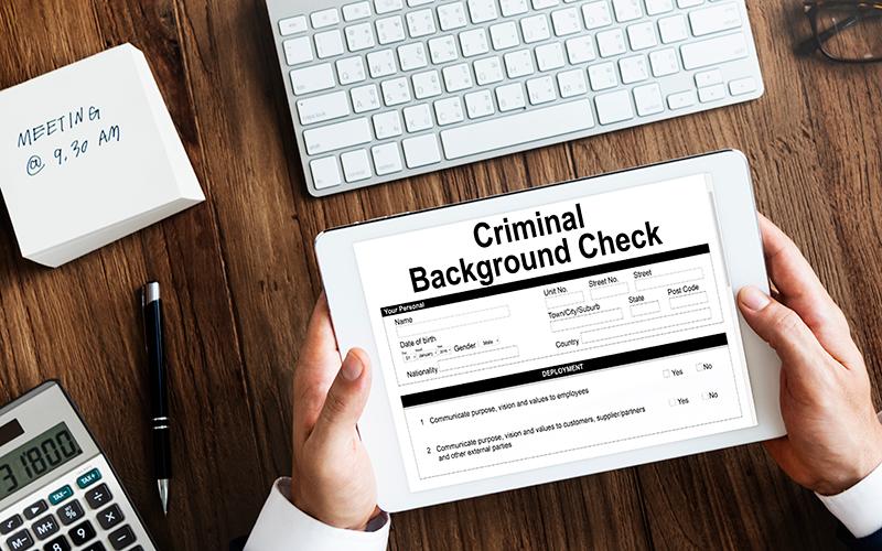 Criminal records: Shutterstock