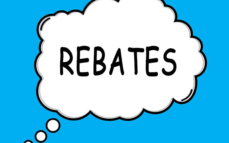 Rebates: Shutterstock