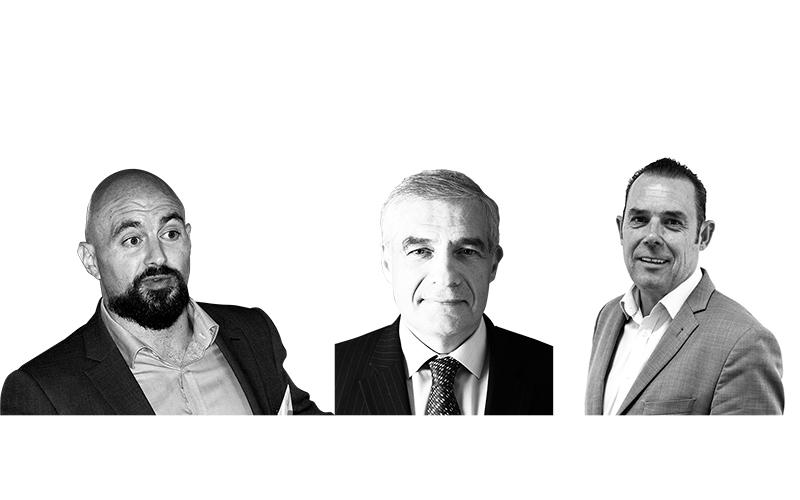 Phillip Ullmann, Mark Lavery, Pete Ward