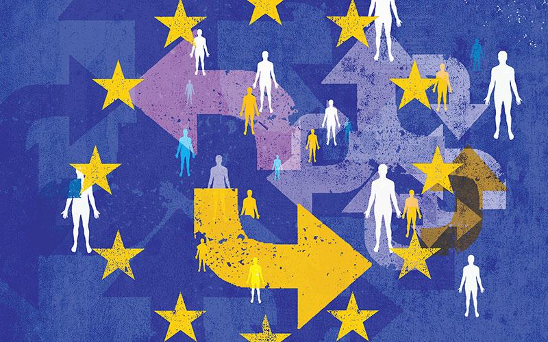 Immigration EU Illustration iStock