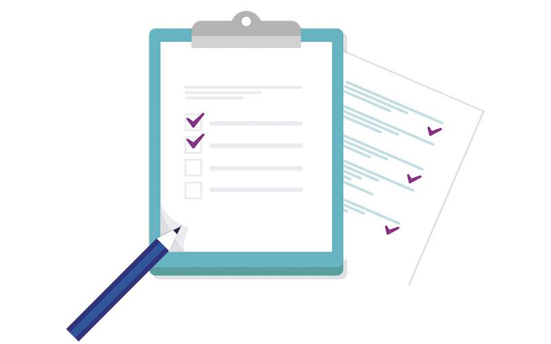 Checklist Checkboard
