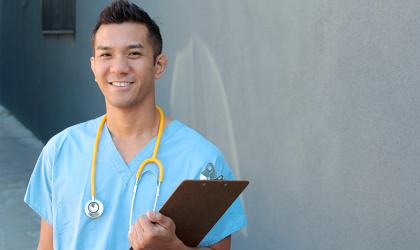 English test for Philippines nurses / Shutterstock : 384587698