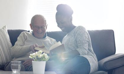 Employability Senior Citizen with Carer iStock